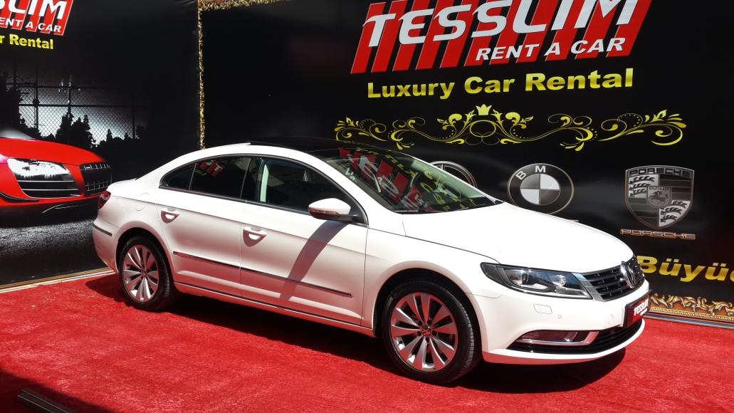 2013 model beyaz Volkswagen Passat CC